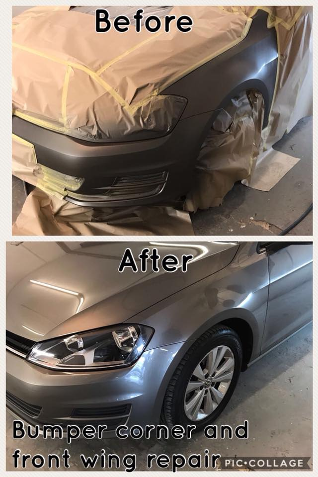 bumper scuff repair warrington