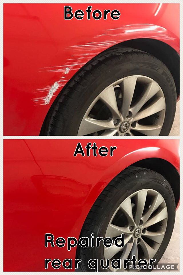 cr scratch repair warrington
